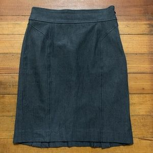 Banana Republic stretch career skirt 0